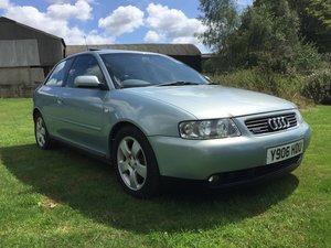 2001 Audi a3 1.8t quattro 180bhp low miles