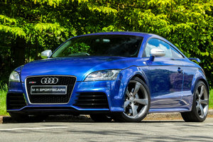 2009 Audi TTRS Sepang Blue Recaro Wingback Seats Manual For Sale