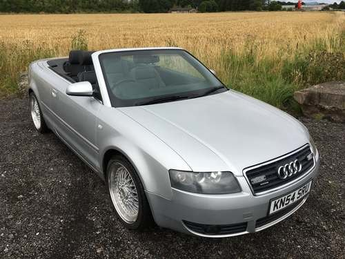 2004 Audi A4 Sport Convertible at Morris Leslie Auction SOLD by Auction (picture 1 of 6)