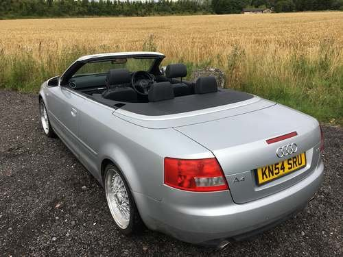 2004 Audi A4 Sport Convertible at Morris Leslie Auction SOLD by Auction (picture 2 of 6)