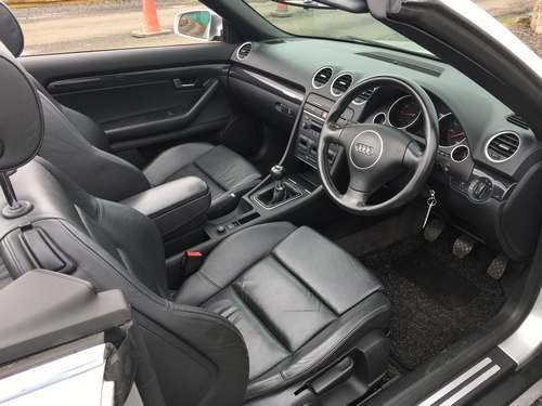 2004 Audi A4 Sport Convertible at Morris Leslie Auction SOLD by Auction (picture 4 of 6)