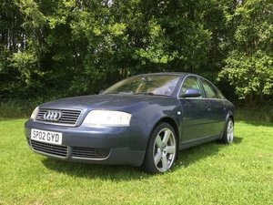 2002 Audi A6 Quattro SE Auto at Morris Leslie Auction 17th August For Sale by Auction