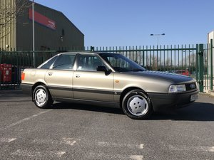 1991 Audi 80 SE 1.8 Auto Exceptionally Clean 52k Miles For Sale