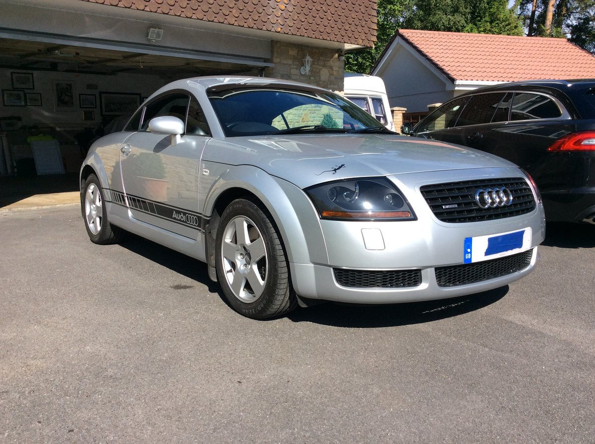 2001 Audi TT Quattro Coupe. Very low mileage. For Sale (picture 1 of 6)