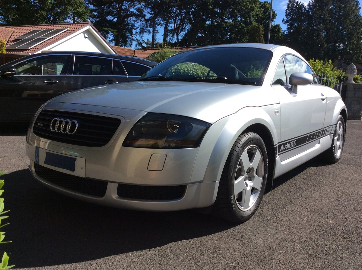 2001 Audi TT Quattro Coupe. Very low mileage. For Sale (picture 2 of 6)