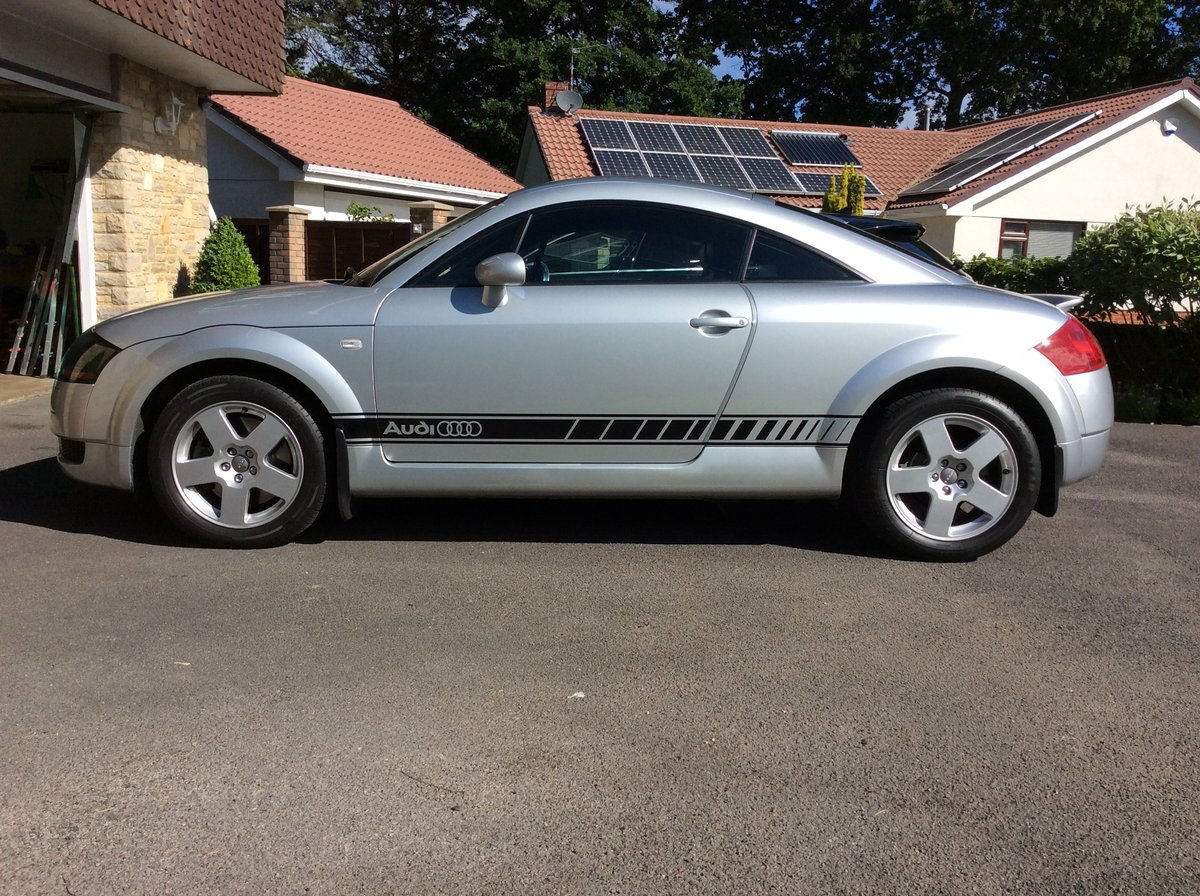 2001 Audi TT Quattro Coupe. Very low mileage. For Sale (picture 3 of 6)
