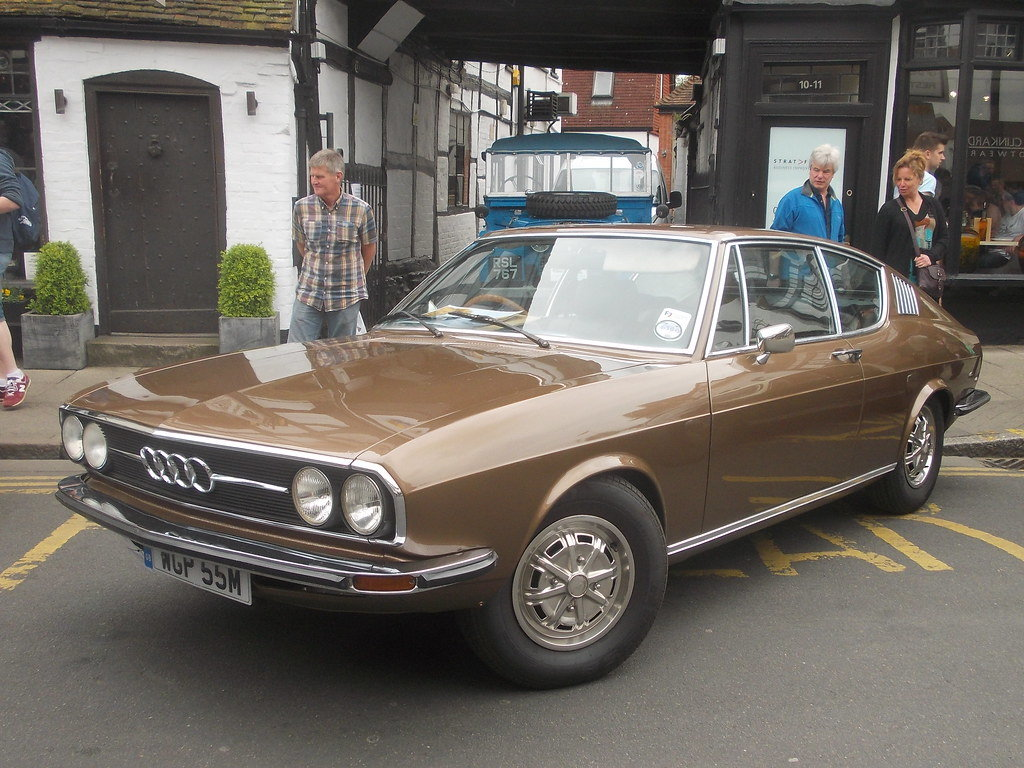1974 Audi 100 S Coupe Automatic For Sale (picture 1 of 6)