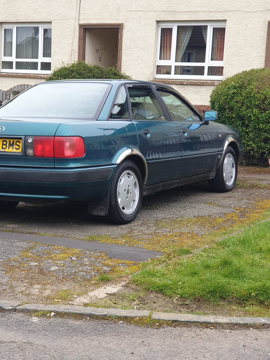 1992 Audi 80 2.0 automatic For Sale (picture 1 of 2)