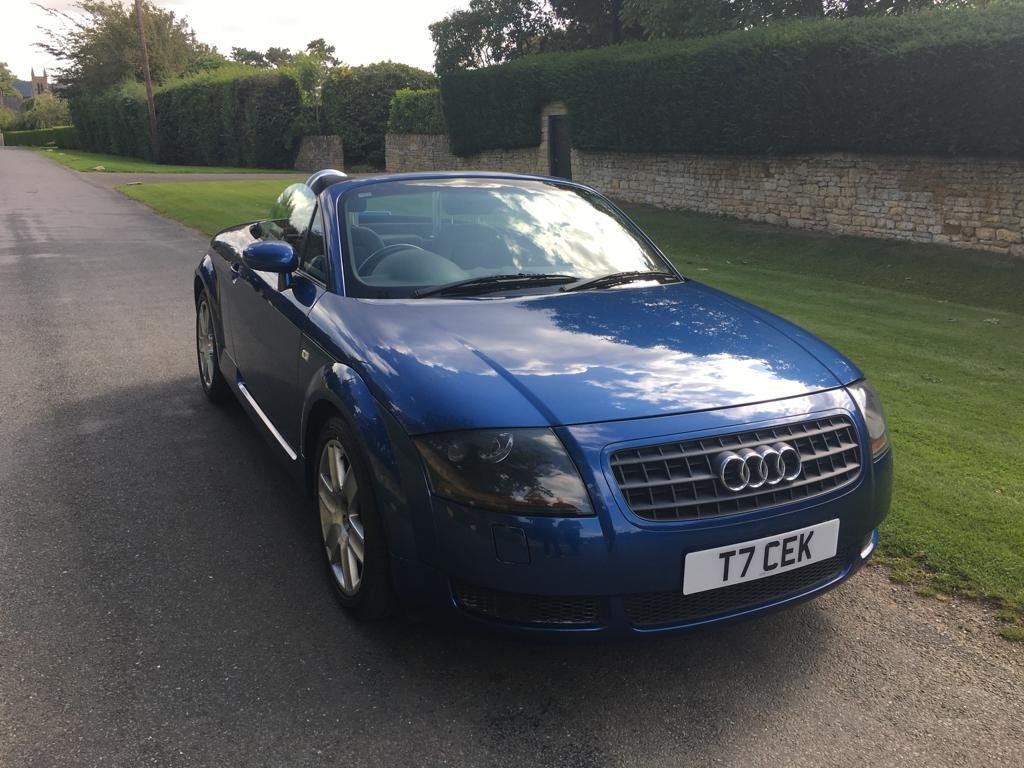 2003 Audi TT Roadster WITH GOOD PROVENANCE For Sale (picture 1 of 6)