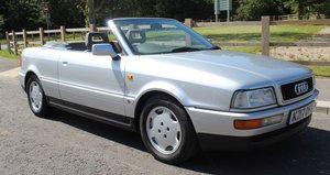 1993 Audi 80 2.3 Manual  Four Seat Cabriolet  , 79,000 miles SOLD