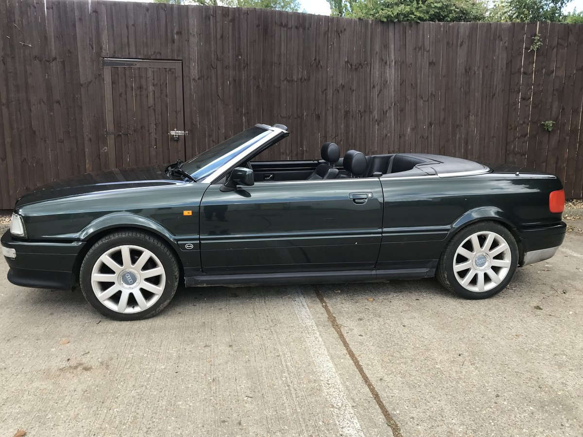 1996 Audi Convertible 2.6 V6 Automatic For Sale (picture 1 of 6)