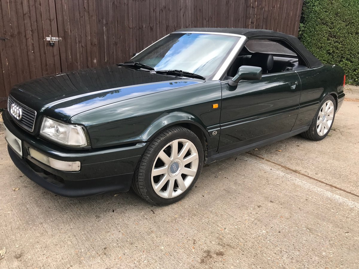 1996 Audi Convertible 2.6 V6 Automatic For Sale (picture 2 of 6)