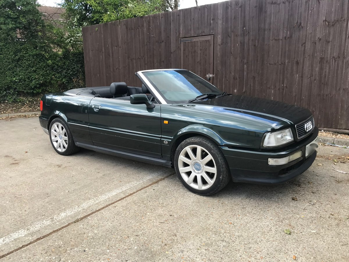 1996 Audi Convertible 2.6 V6 Automatic For Sale (picture 5 of 6)