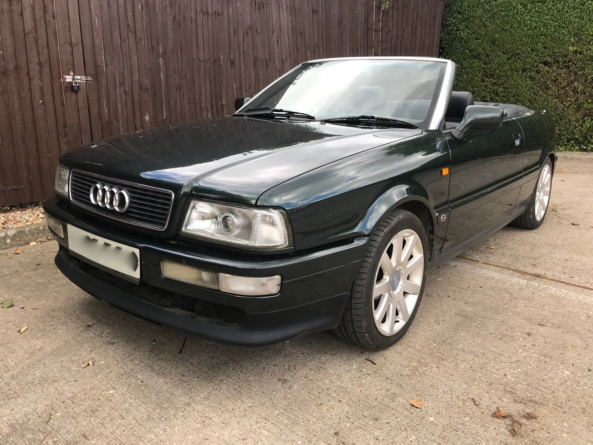 1996 Audi Convertible 2.6 V6 Automatic For Sale (picture 6 of 6)