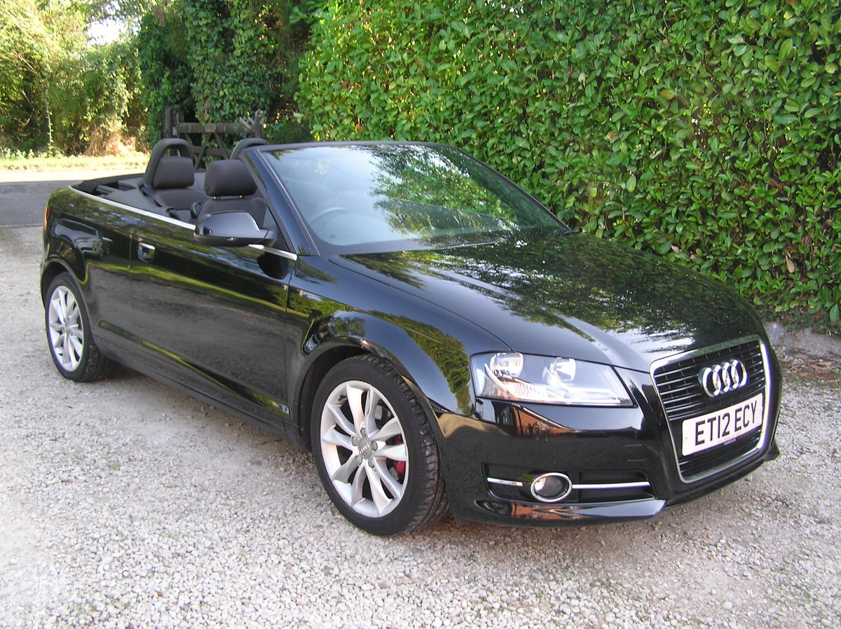 2012 Audi A3 Cabriolet 1.6 TDI Sport 2dr  For Sale (picture 1 of 6)
