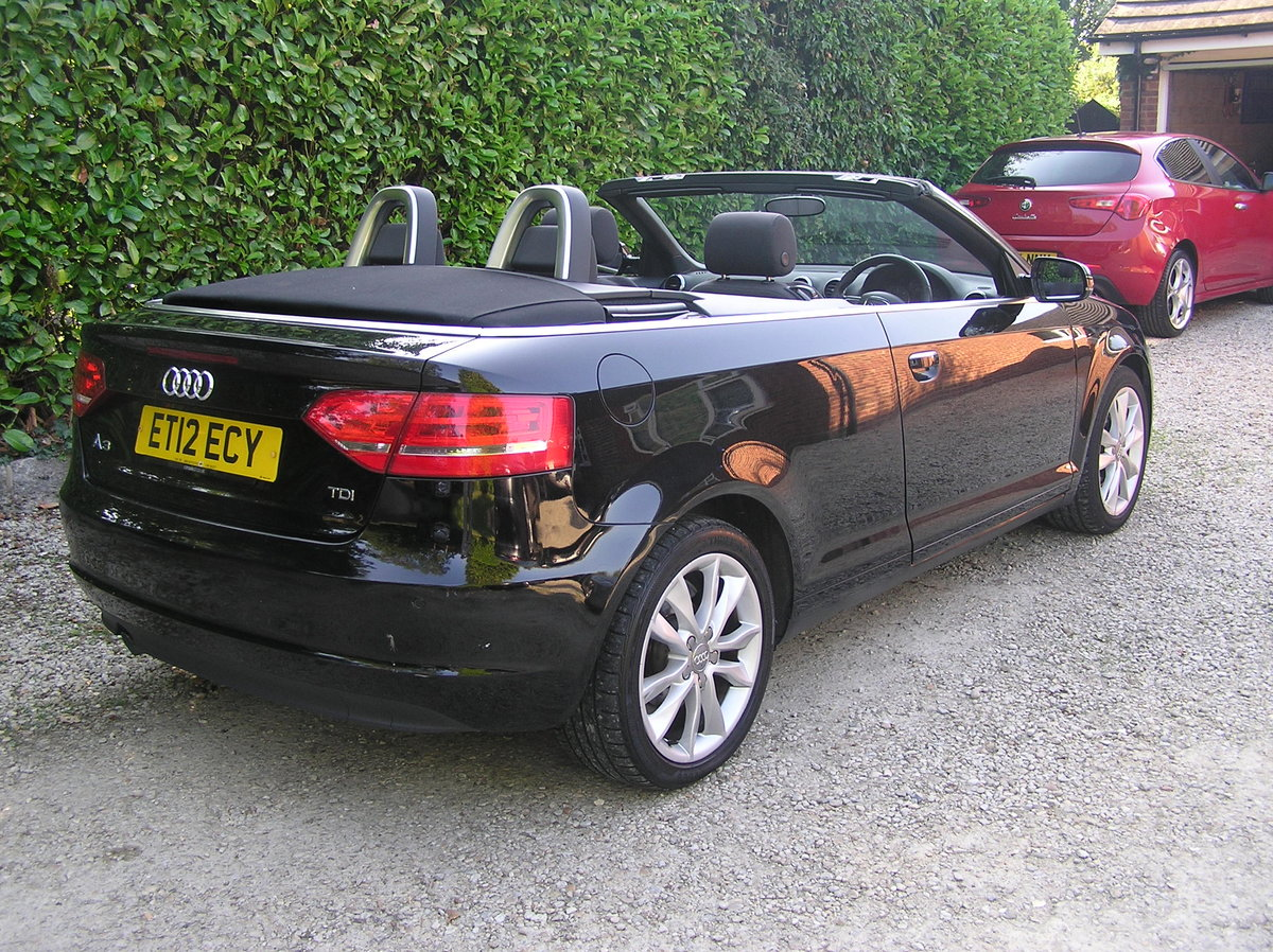 2012 Audi A3 Cabriolet 1.6 TDI Sport 2dr  For Sale (picture 2 of 6)