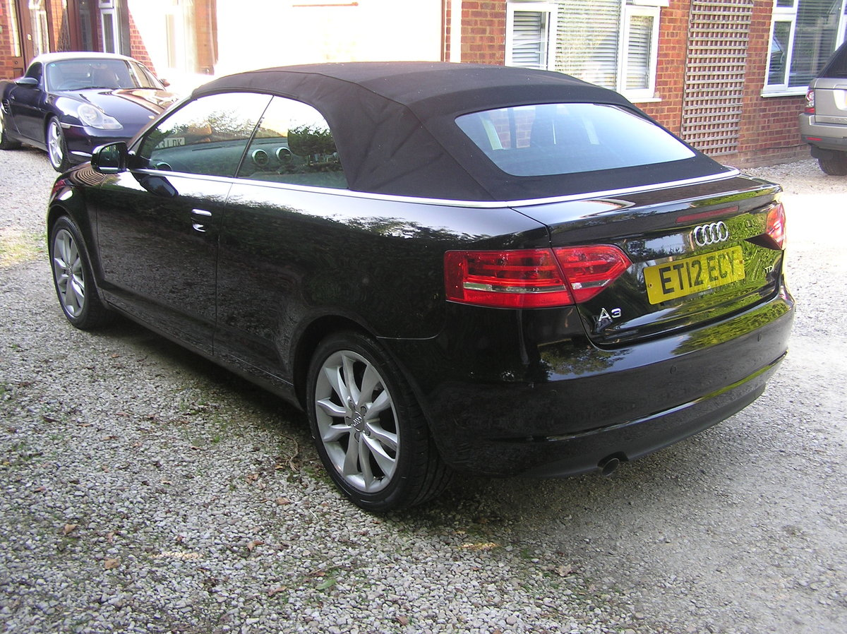 2012 Audi A3 Cabriolet 1.6 TDI Sport 2dr  For Sale (picture 3 of 6)
