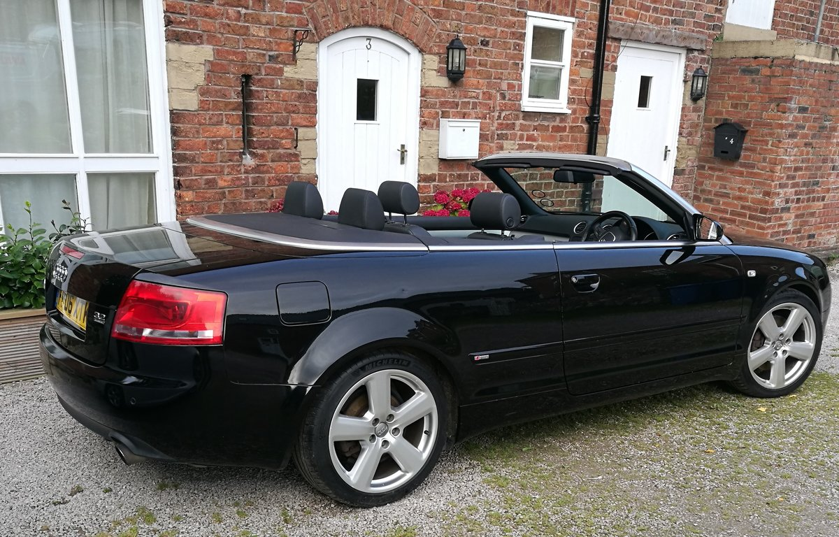 2006 Audi A4 Quattro 3.2 FSI S Line Convertible For Sale (picture 2 of 6)