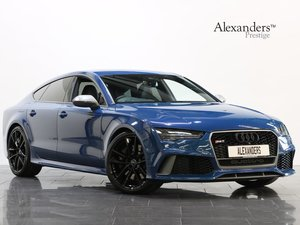 2016 16 66 AUDI RS7 PERFORMANCE SPORTBACK 4.0 TFSI QUATTRO S TRON For Sale