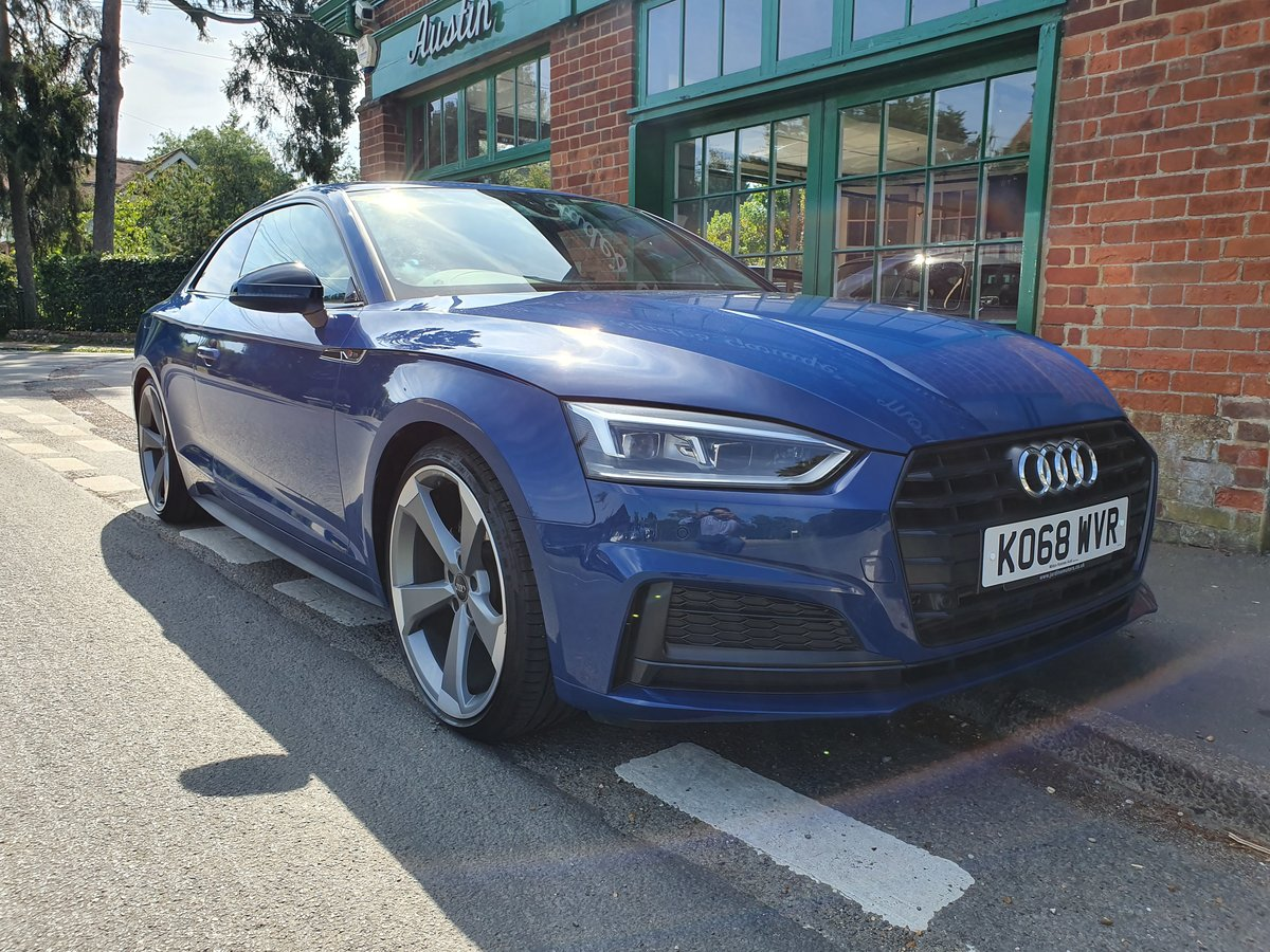 2019 Audi A5 TFSI S LINE BLACK EDITION SOLD (picture 2 of 6)