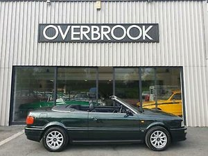 1996 Audi Cabriolet 2.6 62K MILES 1 FORMER KEEPER MANUAL EXC For Sale