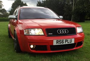 2004 Audi RS6 Plus