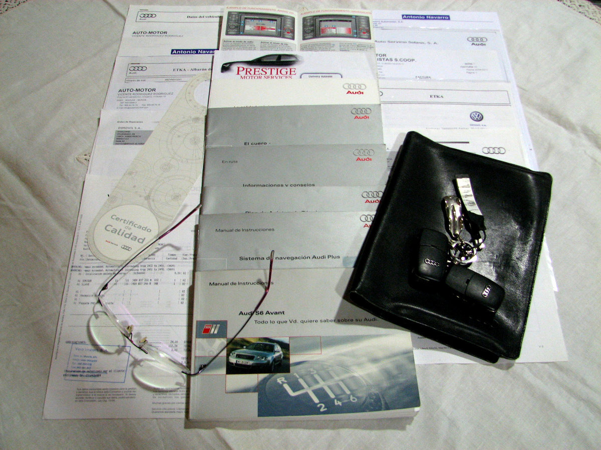 2001 S6 Avant Quattro Sport manuell växel fullständigt  For Sale (picture 6 of 6)