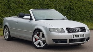 2004 S4 4.2 convertible low mileage 64k genuine