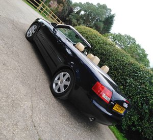 2003 Audi A4 3.0 litre Manual Sport Convertible For Sale