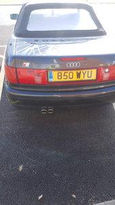 1998 Audi 80 cabriolet 2.6 auto plus hardtop