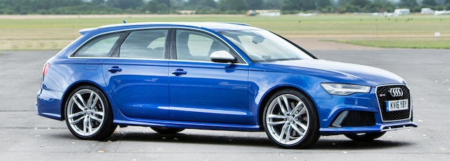 2016 AUDI RS6 TFSI V8 QUATTRO AVANT  For Sale by Auction