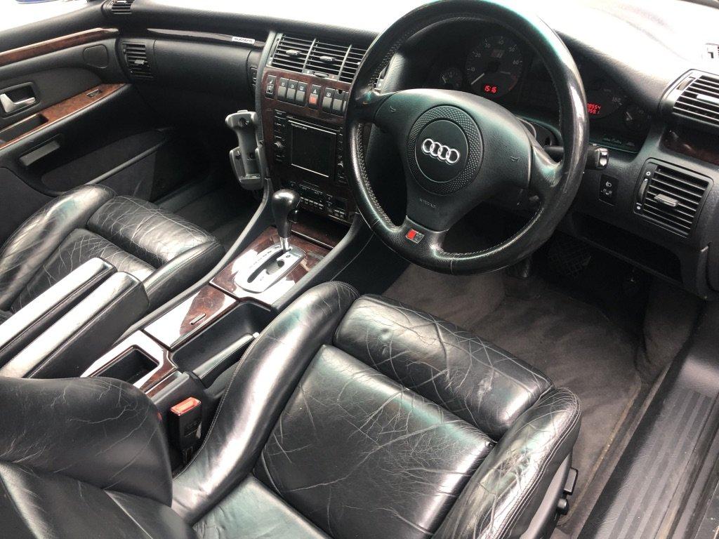 1998 AUDI S8 // 4.2L // QUATTRO // AUTO // 335 BHP // PX SWAP For Sale (picture 7 of 10)