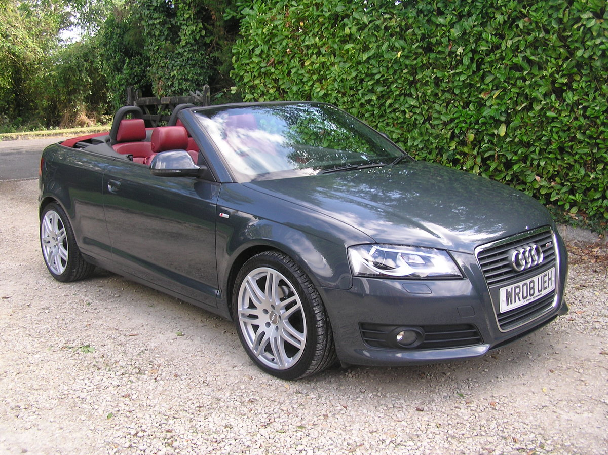 2008  Audi A3 Cabriolet 1.8 TFSI Sport For Sale (picture 1 of 6)