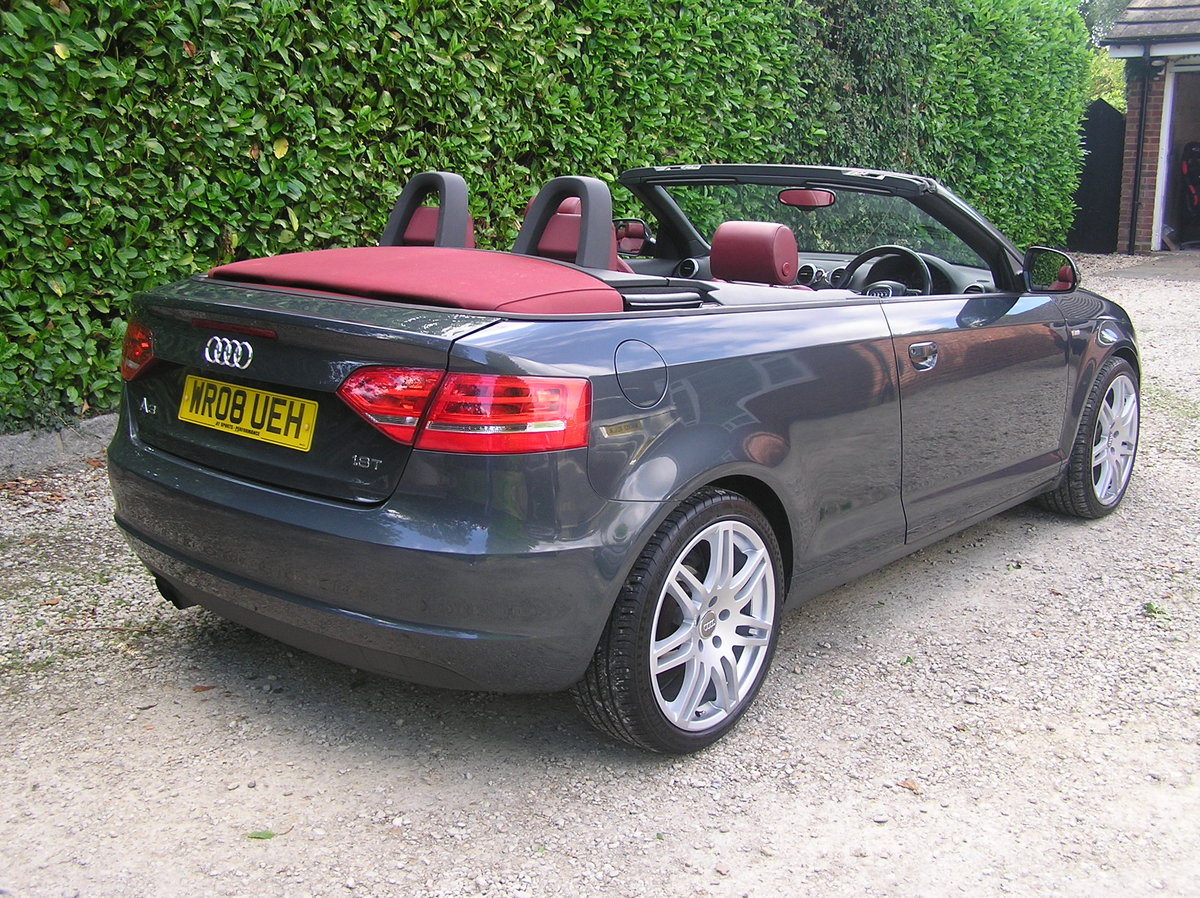 2008  Audi A3 Cabriolet 1.8 TFSI Sport For Sale (picture 2 of 6)