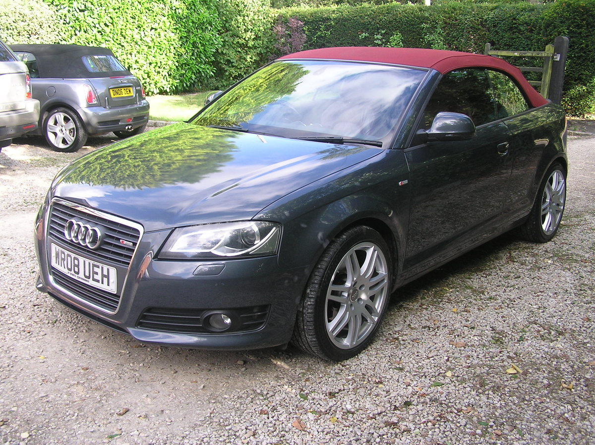 2008  Audi A3 Cabriolet 1.8 TFSI Sport For Sale (picture 4 of 6)