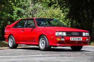 1988  Audi UR Quattro (WR) - Just £20,000 - £25,000