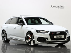 2018 18 68 AUDI RS4 AVANT CARBON EDITION AUTO For Sale