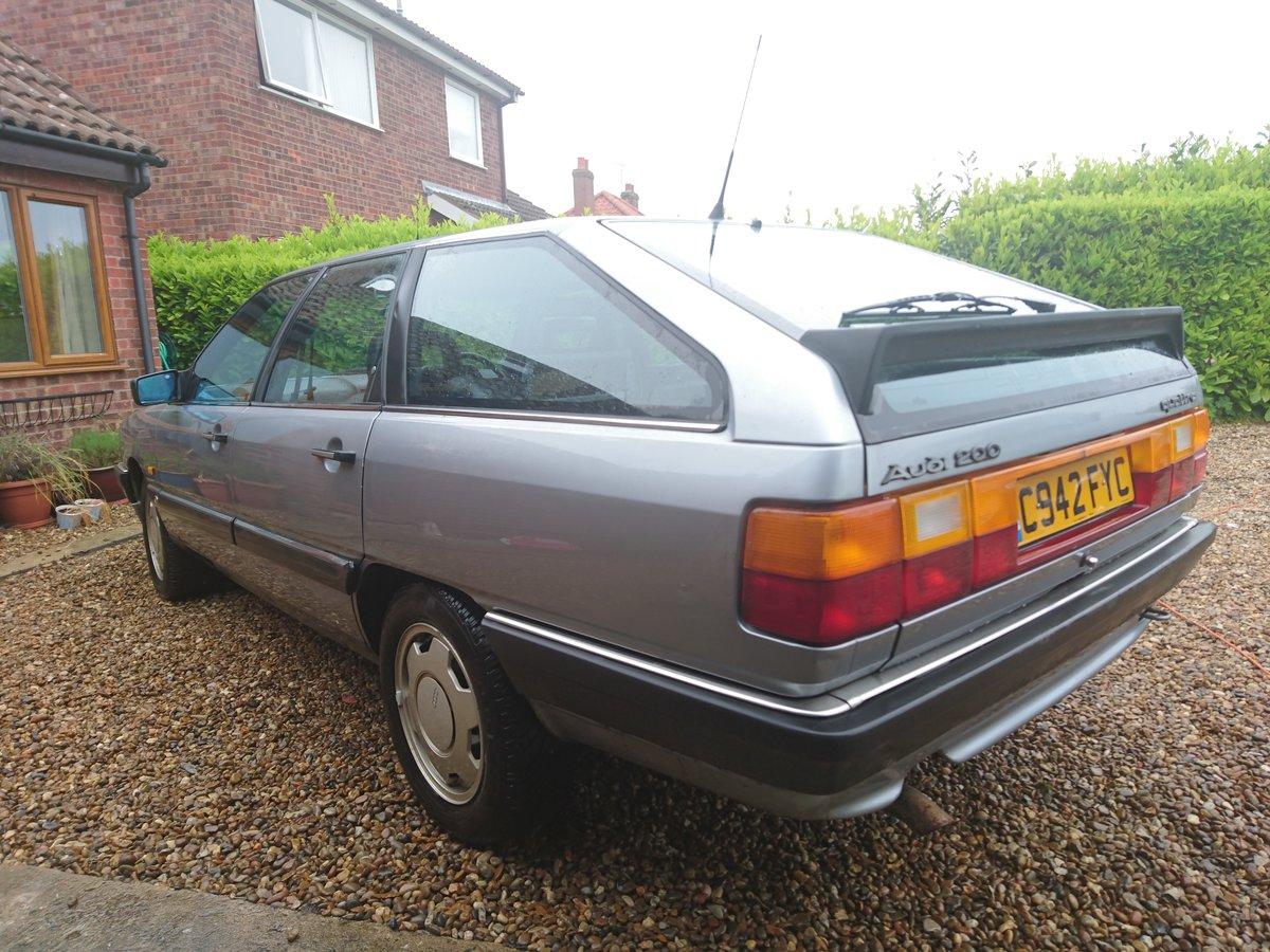 1986 Rare 200 Avant quattro turbo.ex John Haynes OBE For Sale (picture 4 of 6)