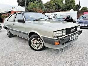 1984 Audi coupe gt - 1 owner - low mileage