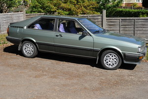 1983 Audi Coupe In need of a new home