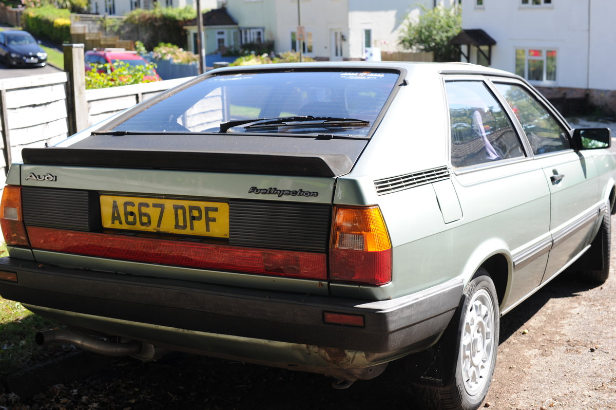 1983 Audi Coupe In need of a new home SOLD (picture 2 of 6)