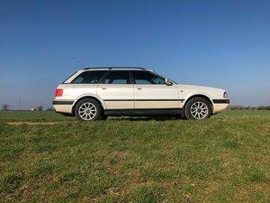 1993 Audi 80 Avant 2.6 V6 Pearl White