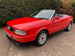 1995 Audi 80 2.6E Cabriolet- Just 33000 miles - Mint! For Sale by Auction