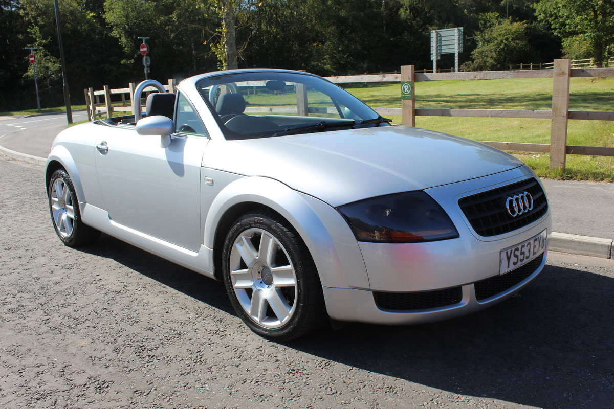 2003 Audi TT Roadster 150 BHP Turbo , 79,000 miles With FSH SOLD (picture 1 of 6)