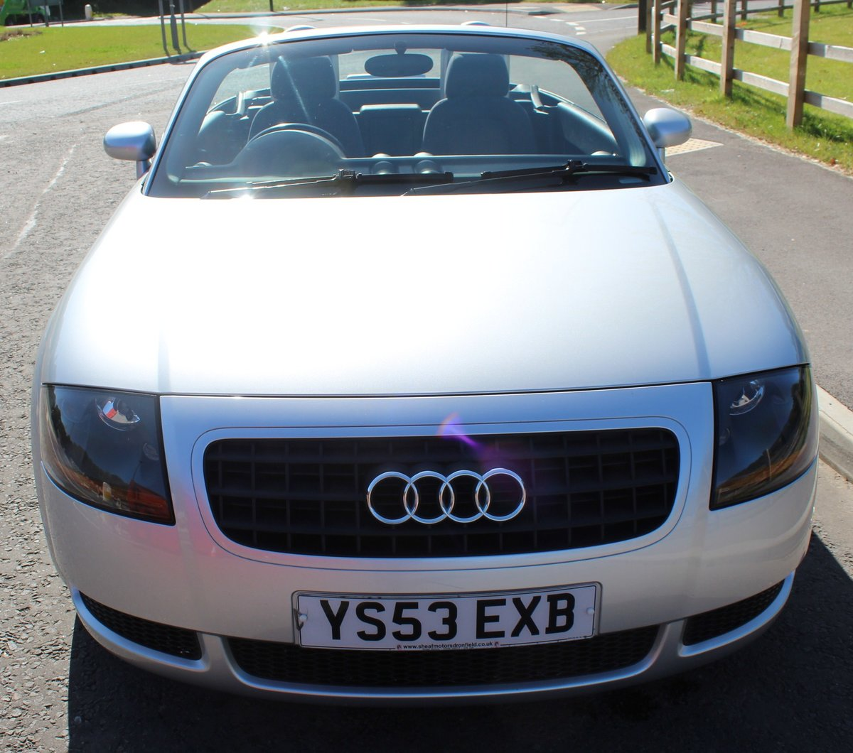 2003 Audi TT Roadster 150 BHP Turbo , 79,000 miles With FSH SOLD (picture 2 of 6)