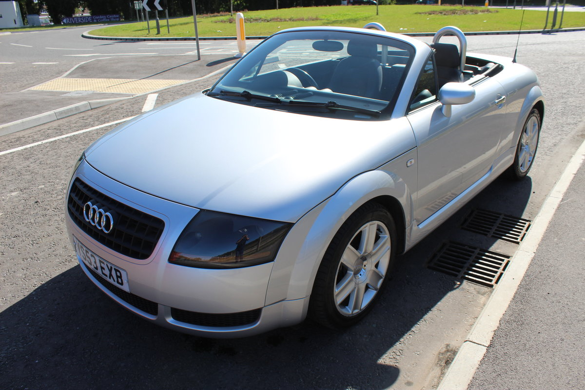2003 Audi TT Roadster 150 BHP Turbo , 79,000 miles With FSH SOLD (picture 3 of 6)