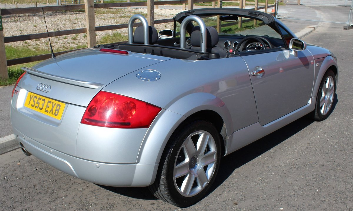 2003 Audi TT Roadster 150 BHP Turbo , 79,000 miles With FSH SOLD (picture 4 of 6)
