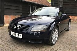 2004 TT Quattro 180 BHP - Barons Friday 20th September 2019 SOLD by Auction