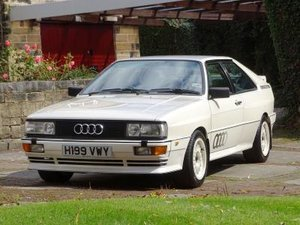 1991 Quattro 20V For Sale