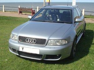 2001 AUDI RS4 AVANT (B5)   LOT: 809 Est £ 16,000 - 20,000